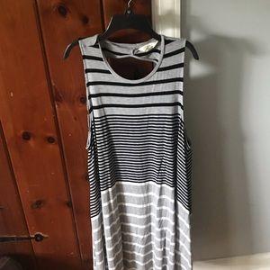 Soft & Sexy American Eagle Striped Tank Dress